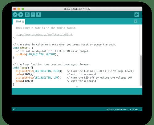 برنامج Arduino IDE