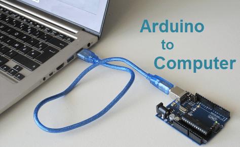 توصيل الاردوينو بجهاز الـكمبيوتر