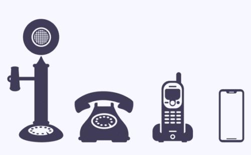 كيف كان الهاتف قديمًا