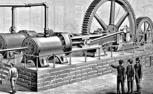 من اخترع المحرك البخاري