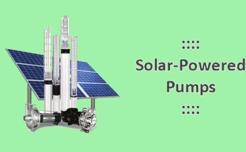 مضخات تعمل بالطاقة الشمسية