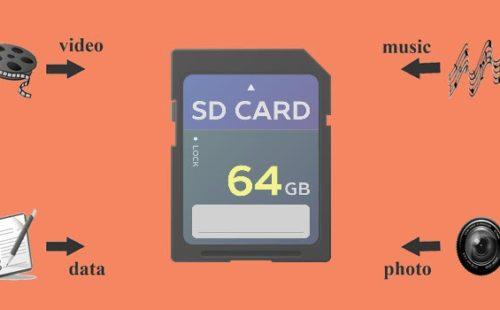 ما هو SD Card ، واستخداماته