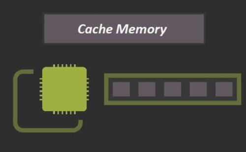 ما هي ذاكرة الكاش Cache memory؟ ووظيفتها؟ والفرق بينها وبين الذواكر الأخرى